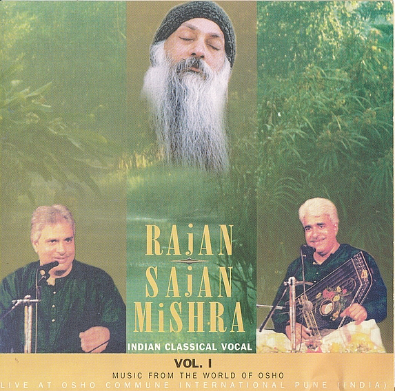 File:Pandit Rajan & Sajan Mishra Vol I ; CD-booklet front cover.jpg