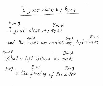 I Just Close My Eyes The Sannyas Wiki