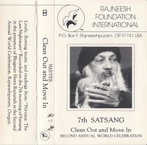 1983-07-08 Second Annual World Celebration Satsang - Jacket front.jpg