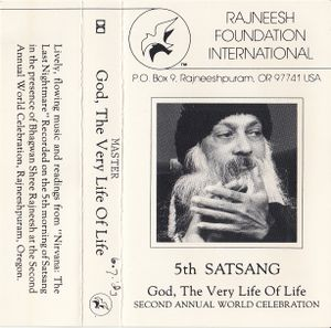 1983-07-06 Second Annual World Celebration Satsang - Jacket front.jpg