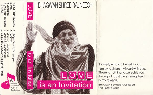 Love Is An Invitation (RIMC 1) ; Cover front.jpg