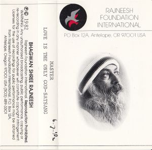 1982-07-06 First Annual World Celebration Satsang - Jacket front.jpg